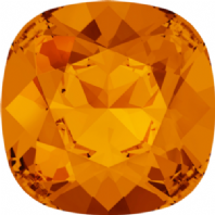 Swarovski 4470 Square Fancy stone 10mm Tangerine
